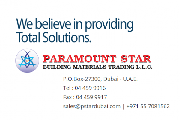 services - Paramount Star Building Materials Trading LLC